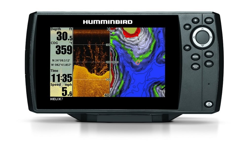 Humminbird helix 7 di gps review for Fish finder reviews