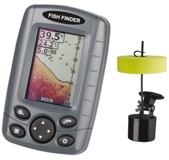 Signstek ff 003 portable fish finder review for Portable fish finder reviews