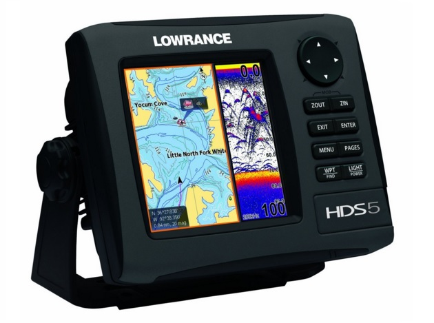 top fish finder Lowrance