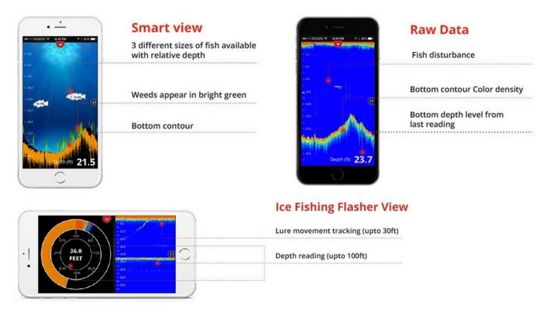FishHunter Portable Fish Finder
