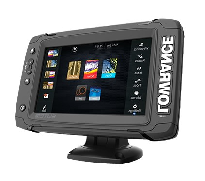 Lowrance ELITE-7 TI Med High Totalscan Fishfinder